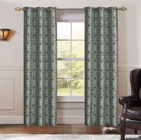 spa curtains single penelope spa window curtain panels w grommets