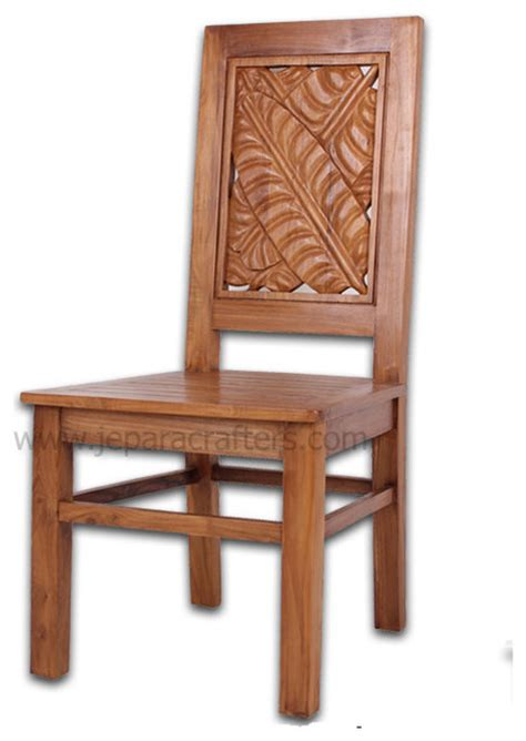 Teak Dining Chairs Indoor Teak Dining Chairs For Indoor Furniture Asian Dining Chairs Other Metro By Jepara