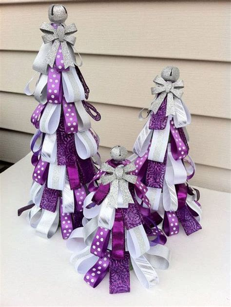 25 best ideas about purple christmas decorations on