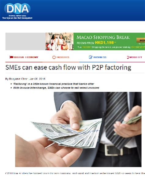 Sle Cash Flow Problems | ease cash flow with p2p factoring invoiceinterchange
