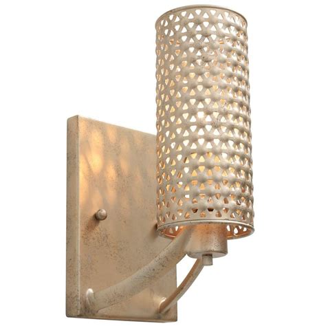 Zen Bathroom Lighting Varaluz Casablanca 1 Light Zen Gold Vanity Light 244b01zg The Home Depot