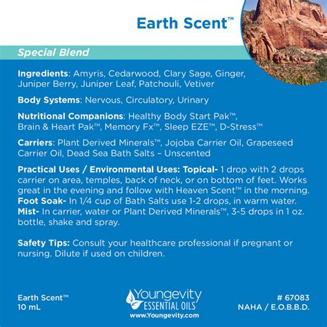 how to use essential oils to scent a room earth scent essential blend 10ml shop usa health youngevity products