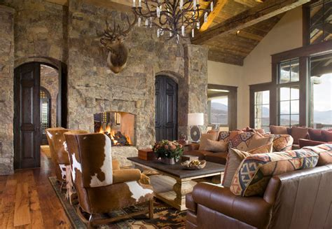 the living room denver co colorado ranch home rustic living room denver by