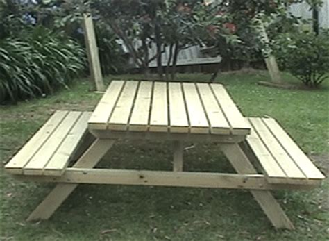 picnic table without benches 20 free picnic table plans enjoy outdoor meals with