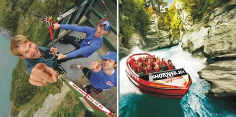 swing new zealand canyon swing jet boat ride queenstown everything new