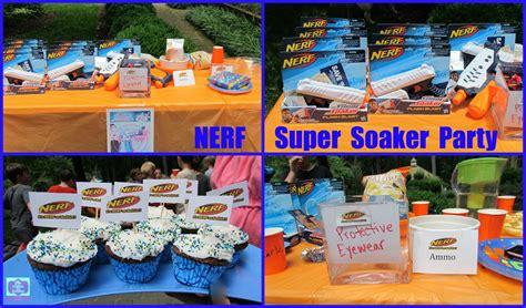 Summer  Ee  Birthday Ee    Ee  Party Ee    Ee  Ideas Ee   Nerf Super Soaker  Ee  Birthday Ee