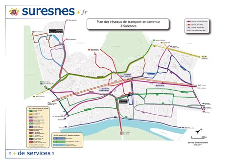 plan des si鑒es air se d 233 placer dans suresnes en transport en commun