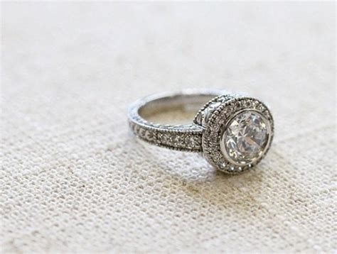 vintage engagement ring trends for 2015 weddbook