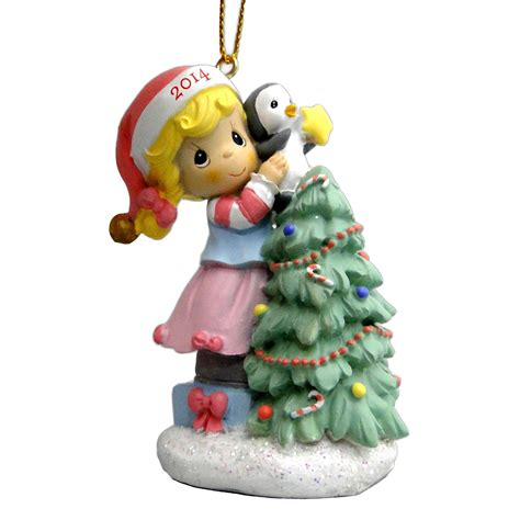 precious moments christmas ornament 2014 decorating tree