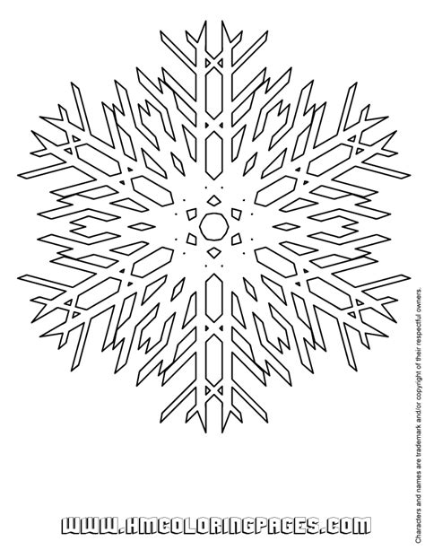 frozen coloring pages snowflakes free coloring pages of frozen snowflake
