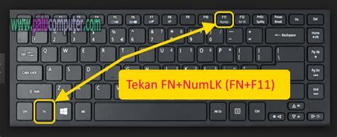 Keyboard Laptop Lu cara memperbaiki tombol keyboard laptop eror ngetik angka belajar komputer dasar palu