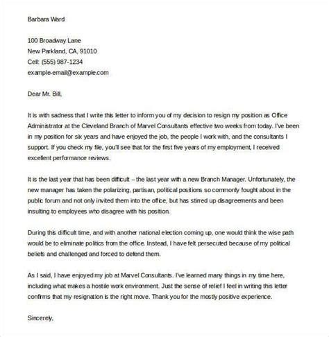 Relocation Resignation Letter Sle by Exle Resignation Letter Due To Relocation To Exle Free Resume Cover Letter Exles