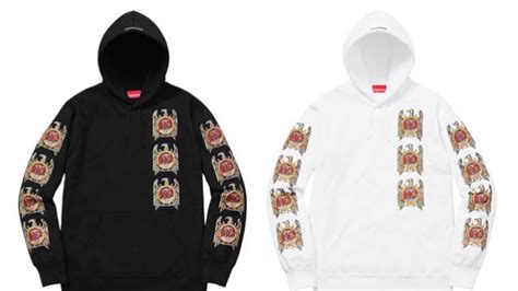 supreme clothing line slayer teams up with streetwear brand supreme for new