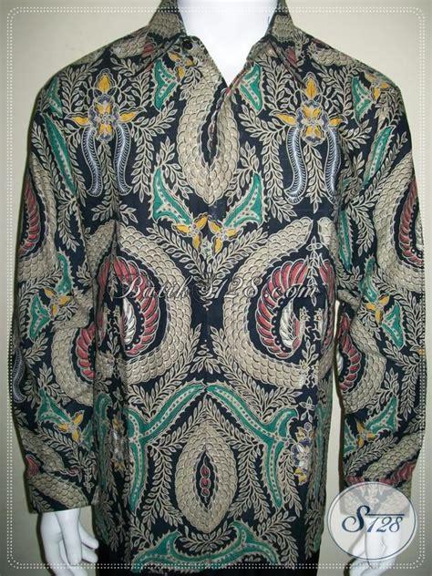 Kemeja Batik Clasic kemeja batik lengan panjang classic elegance motif babon