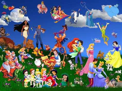 wallpaper of disney characters disney disney wallpaper 237074 fanpop