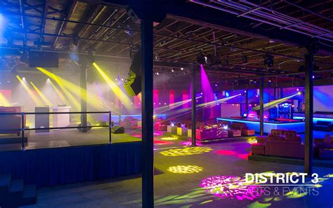 The Venue   District3 Event Center   Tampa, FL