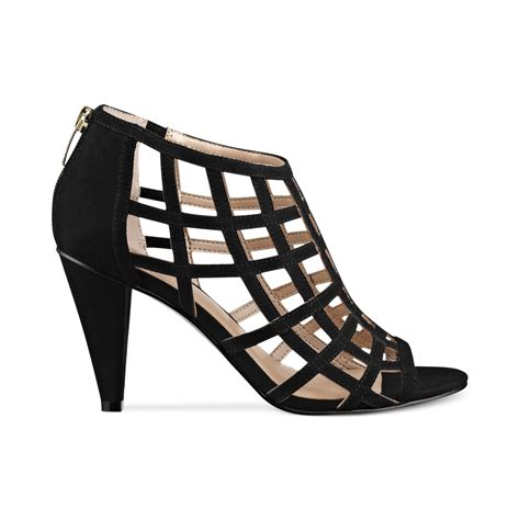caged sandal marc fisher philo caged sandals in black lyst