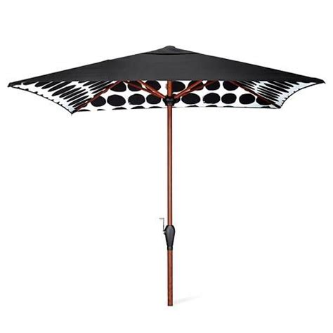 Black And White Patio Umbrella Marimekko Black White Dots Umbrella