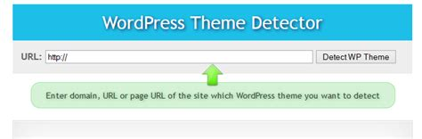 blog theme detector awesome and free online wordpress theme detailed detection