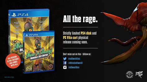 oddworld new n tasty for ps4 ps vita getting limited