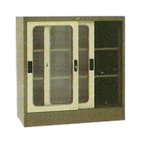 Rak Arsip Elite jual lemari arsip 2 pintu sliding kaca 189 tinggi type el