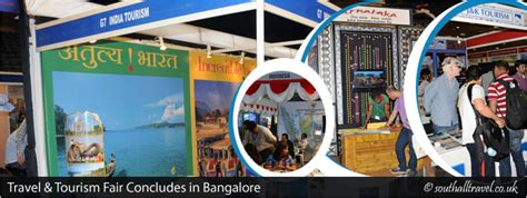 travel tourism fair concludes  bangalore india