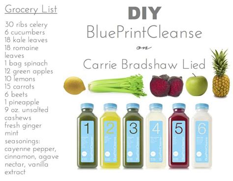Diy Detox by Diy Blueprint Juice Cleanse