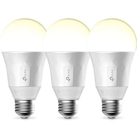 what light bulbs work with google home kasa smart wi fi led light by tp link soft white