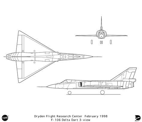 Home Blueprint nasa dryden f 106 graphics collection