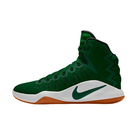 green basketball shoes nike hyperdunk 2016 id s basketball shoe in green for