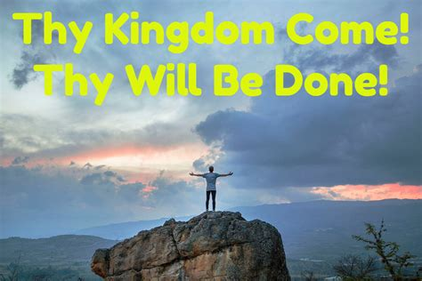 kingdom come zip thy kingdom come thy will be done alby