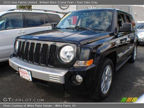 jeep patriot 2010 black brilliant black pearl 2010 jeep patriot limited