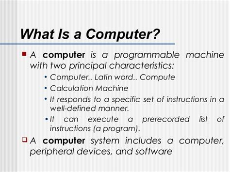 what is a one basic computer fundamentals