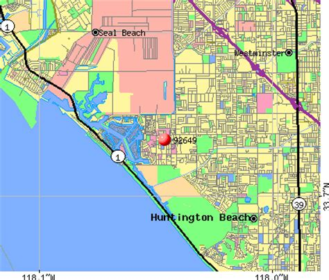 zip code map huntington beach ca huntington beach zip codes map zip code map