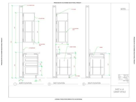kitchen cabinet section cad detail drawing of kitchen cabinets by dashawn wilson