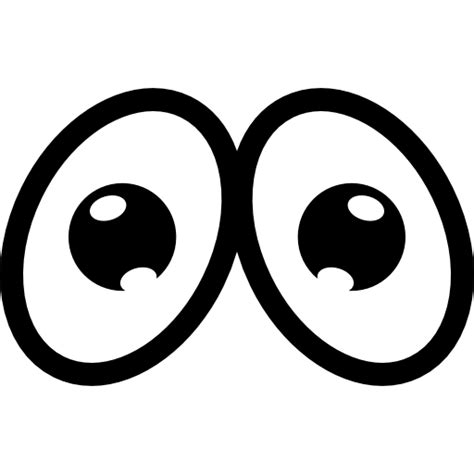 Imagenes De Ojos Tristes Animados | ojos tristes de dibujos animados iconos gratis de gestos