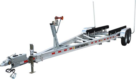 boat trailer drive on guides continental trailers cta2785b drive on boat trailer
