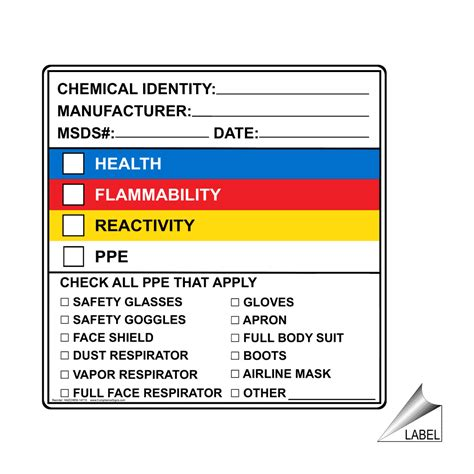 Msds Label Template Msds Labels Video Search Engine At Search Com