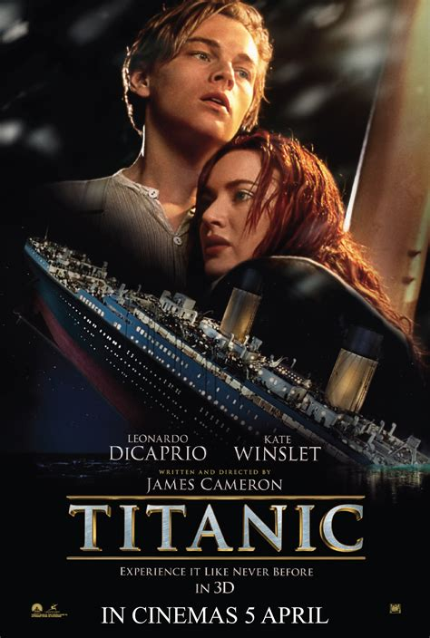 film titanic dvd really kool titanic in 3d the movie review this heart