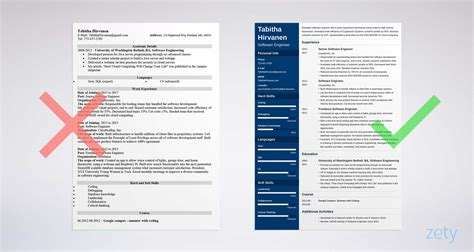 resume sles software engineers experienced software engineer cover letter sle writing guide 15