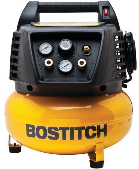 bostitch btfp02012 lightweight portable air compressor 3 7 scfm at 40 psi 2 6 scfm at 90 psi