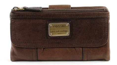 Dompet Fossil Emory Espresso Wallet 4051432699290 ean genuine fossil emory espresso brown leather clutch purse upc lookup