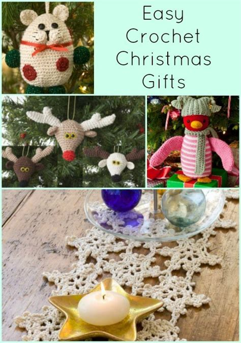 free crochet patterns easy christmas gifts 21 easy crochet gifts favecrafts