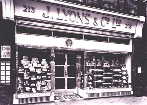 Lyons Tea Rooms by Roaring Trade A History Of J Lyons 1894 1949 Let S