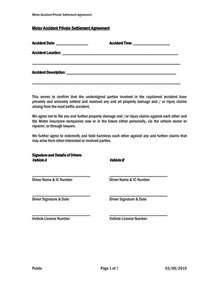 And Settlement Letter Template by Settlement And Release Sle Templates Sles And