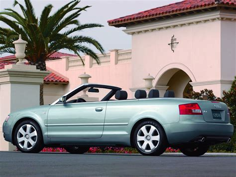 second audi a4 convertible audi a4 cabriolet 2002 2003 2004 2005 autoevolution