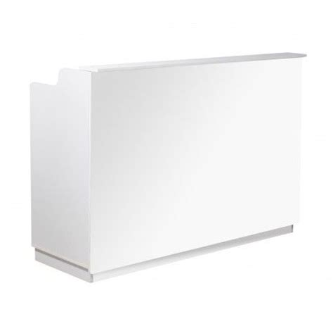 Salon Furniture Deco Piazza Reception Desk White White Reception Desk Salon