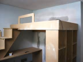 Loft Bed Frame Designs How To Build A Loft Bed With A Desk Underneath Hgtv