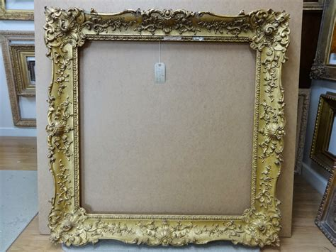 in frame antique frame sale a ornate swept louis xv frame