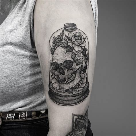 dotwork tattoo history literally the best 65 skull tattoos in history tattoomagz
